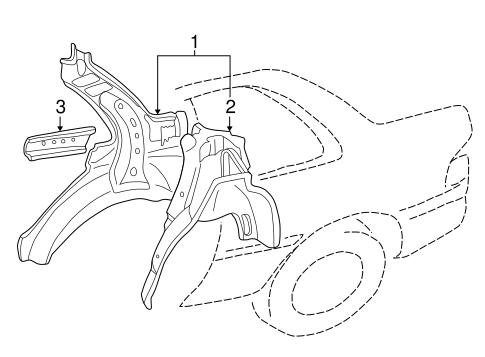 Inner Structure For 2001 Subaru Impreza