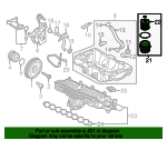 Oil Filter Housing - Volvo (31321084)
