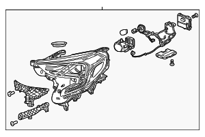 Headlamp Assembly - GM (84610587)