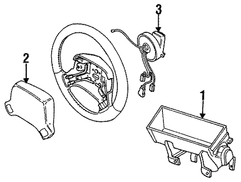 Air Bag Components For 1996 Chrysler Concorde