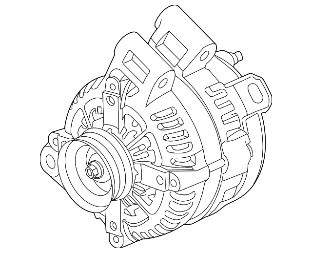 alternator gm 23279588 gmpartsdirect Buick Enclave Color Chart add to cart