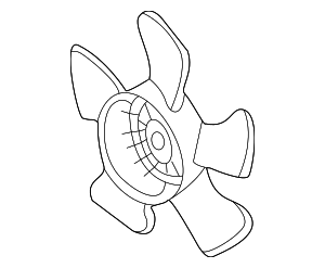Fan, Cooling - Honda (19020-PNL-G01)