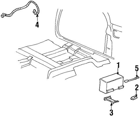 oem battery for 1997 buick riviera gmpartscenter net
