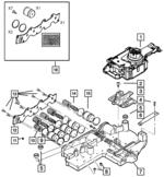 2003-2004 Jeep Grand Cherokee Transmission Valve Body Plate