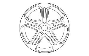 Wheel - Mercedes-Benz (218-401-07-00-7X21)