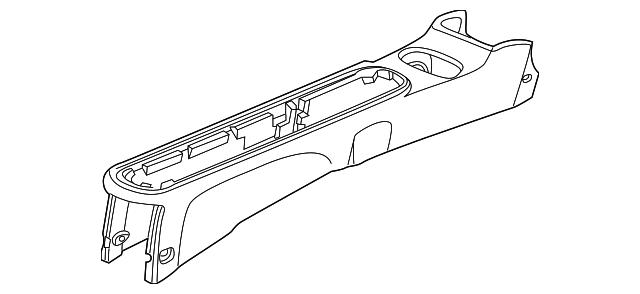 Honda Genuine 83402-S5A-A11ZZ Center Console Bracket