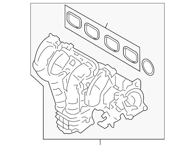 Genuine Ford Intake Manifold 5l8z 9424 A