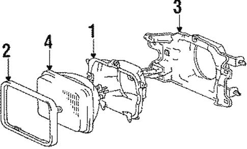 Toyota 83110-1A761 Speedometer