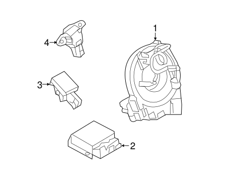 Air Bag Components for 2015 Ford F-350 Super Duty #2