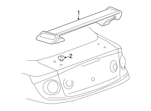 Spoiler For 2009 Chevrolet Cobalt