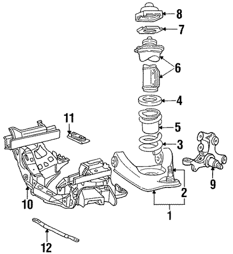 Suspension Components For 1997 Ford Mustang Silver State