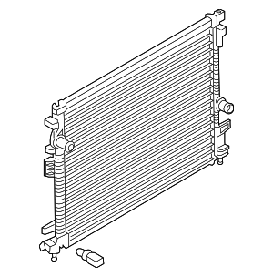 Radiator - Ford (F2GZ-8005-E)