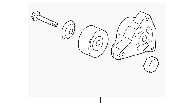 Tensioner Assembly, Auto