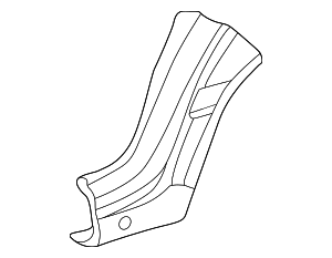 Lower Extension - Mercedes-Benz (202-637-12-09)