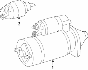 Remanufactured Starting Motor