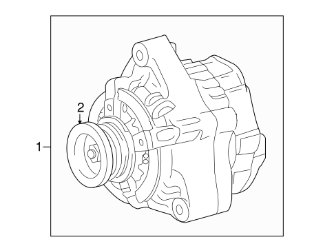 Genuine Oem Alternator Parts For 2008 Toyota Sequoia Limited