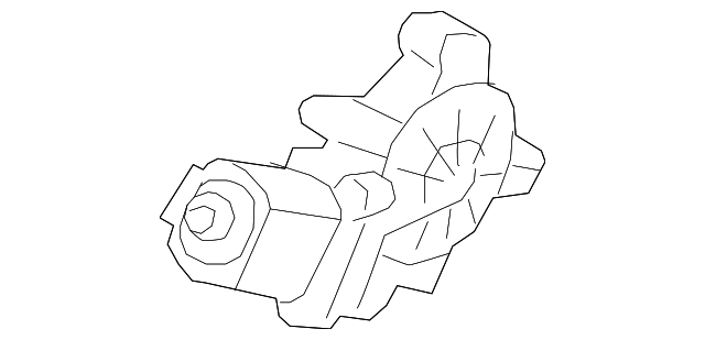 Genuine Kia Window Motor 83460