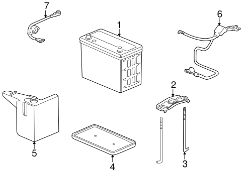 Box Assembly, Battery