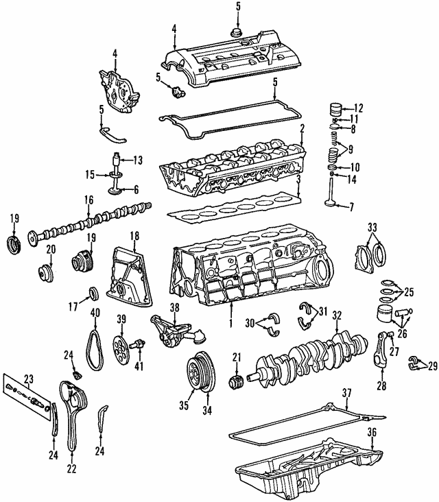 Chain Guide - Mercedes-Benz (104-050-15-16)