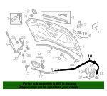 Release Cable - Volkswagen (5NA-823-535-A)