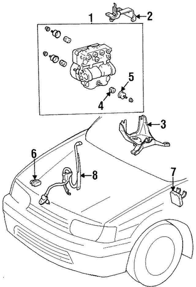 1995 1998 Toyota Relay 88263 16010