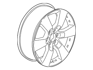Wheel, Alloy - GM (23127747)