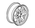 Wheel, Alloy - GM (23126027)