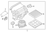 Cabin Air Filter - Land-Rover (LR036369)