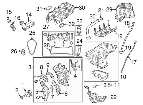 Engine Parts for 2015 Dodge Journey | TascaParts.com | 2013 Dodge Journey Engine Diagram |  | Tasca Parts