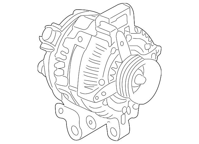 Genuine Gm Alternator 84009359