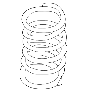 Coil Spring - Nissan (55020-4RA2A)
