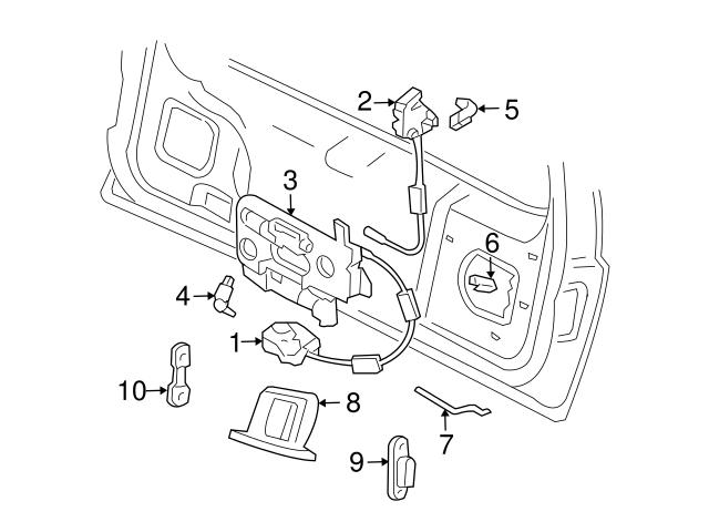 Ford Switch Xf2z 14018 Ba