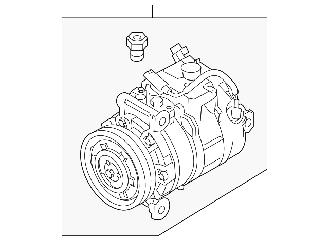 2013 Bmw 128i Compressor 64 50 9 180 549
