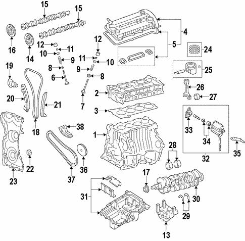 mazdaspeed 6 engine diagram oil pan for 2010 mazda 6 realmazdaparts com  oil pan for 2010 mazda 6