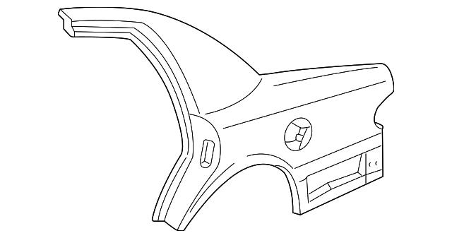 Quarter Panel Ford Wz  A