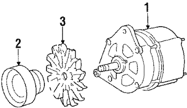 Alternator - Volkswagen (068-903-017-NX)
