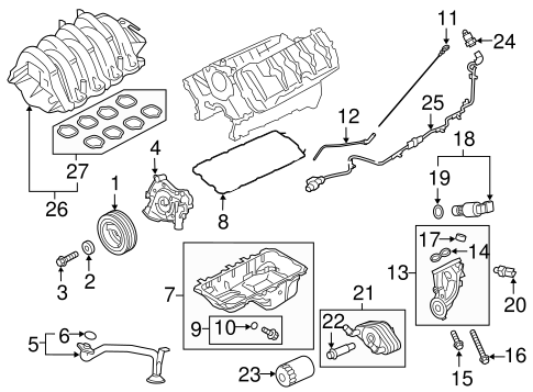 Engine Parts For 2015 Ford F 150