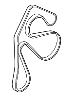 Serpentine Belt - Land-Rover (LR036456)