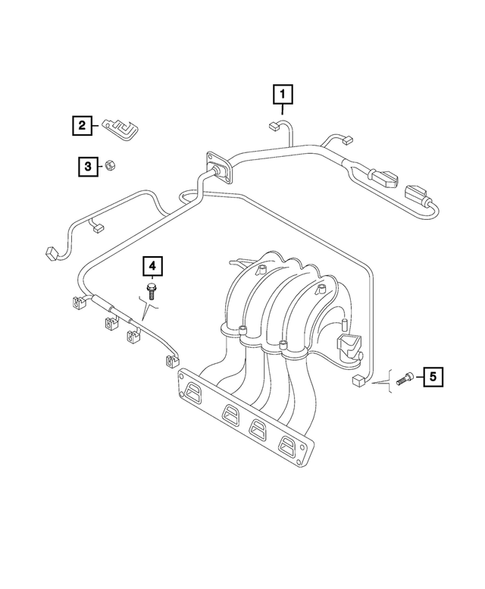 Wiring-Powertrain for 2015 Jeep Renegade #1