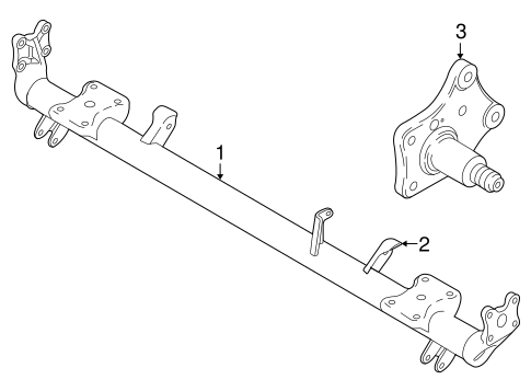 Axle Components For 2010 Ford Transit Connect