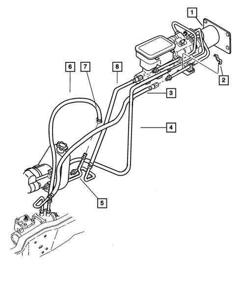 Power Steering Hoses for 2002 Dodge Ram 2500 | OEM Mopar PartsLithia Chrysler Jeep Dodge of Grants Pass