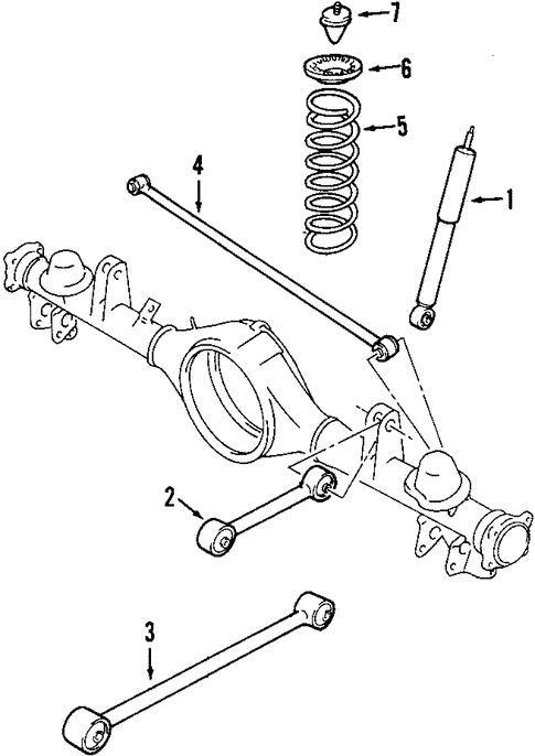 rear suspension for 2002 suzuki vitara