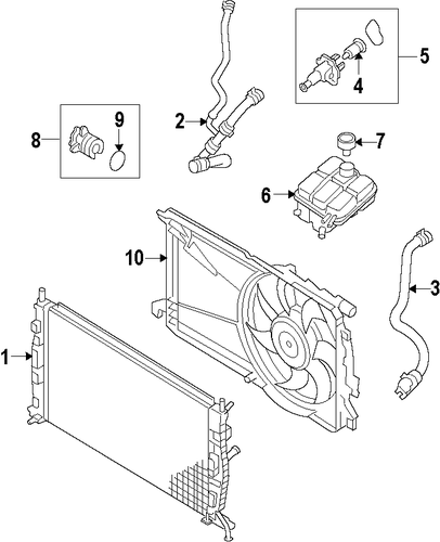genuine oem cooling system parts for 2013 mazda 3 mazdaspeed