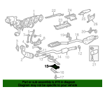 Exhaust System Hanger Bracket - Mercedes-Benz (202-492-07-18)