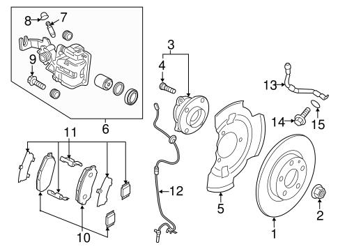Brake Components For 2017 Mazda Mx 5 Miata