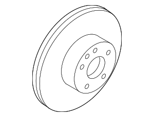 Disc Brake Rotor (Sedan Models Non-Akebono) - Infiniti (43206-EG000)