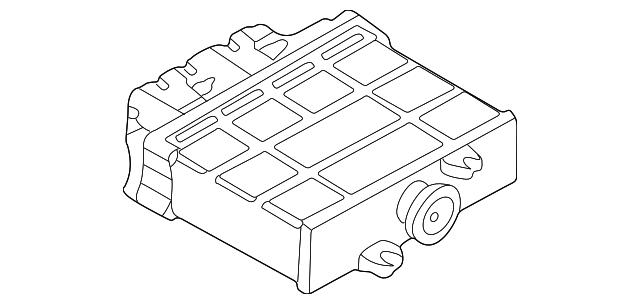 1999 2003 Volkswagen Auto Trans Control 01m 927 733 Ka