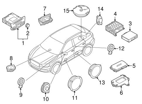 Navigation System for 2017 Audi Q3 Quattro | Genuine Audi Parts