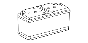 Vehicle Battery - Mercedes-Benz (001-982-79-08-26)