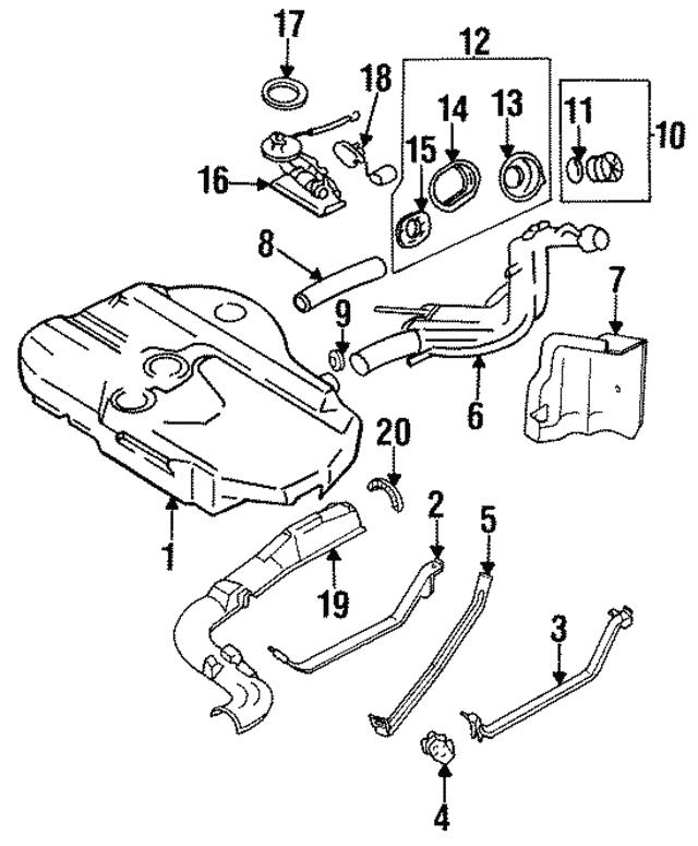 fuel pump gasket